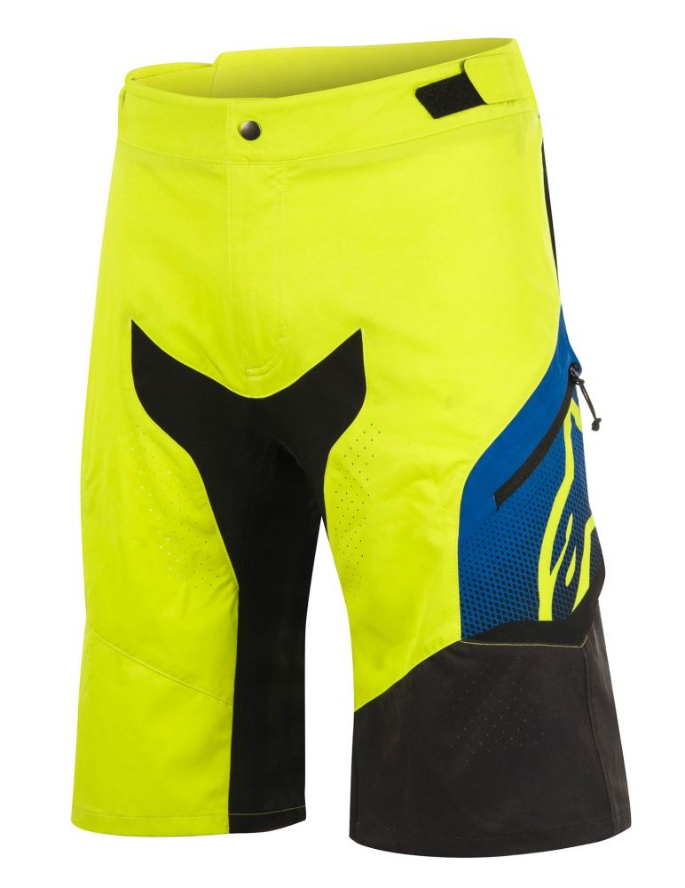 Alpinestars Predator Shorts Acid Yellow/Royal Blue