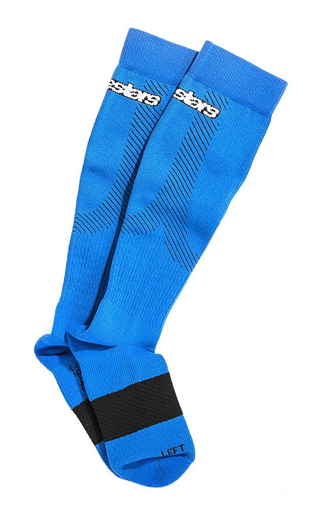 Alpinestars Compression Socks - podkolenky Royal Blue kompresní