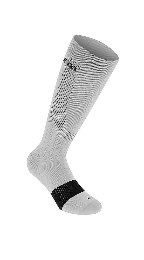 Alpinestars Compression Socks - podkolenky White/gray kompresní
