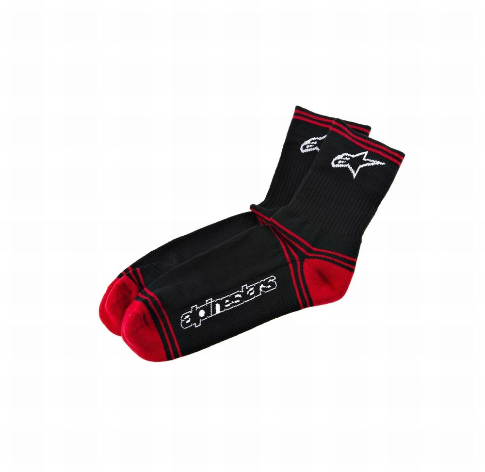 Alpinestars MTB Winter Socks - ponožky Black/Red