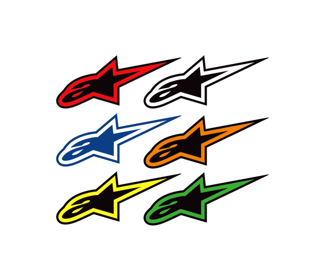 Alpinestars sticker Logo S (7 cm)