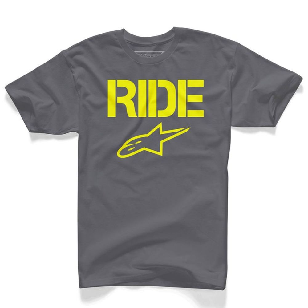 Alpinestars T-shirt RIDE solid Charcoal
