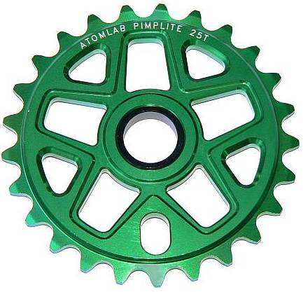 Atomlab PimpLite sprocket 25T green