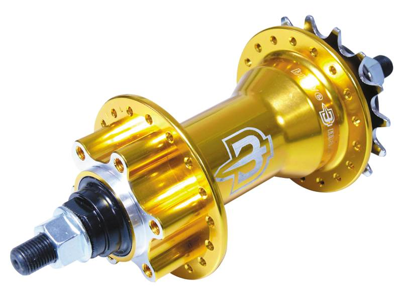 Brave Monster Single 16T hub Gold