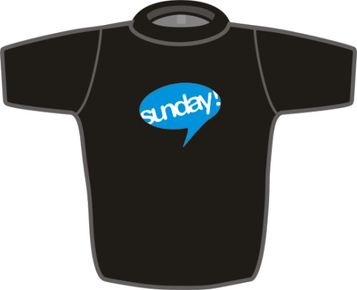 T-shirt cz - Sunday Ltd.