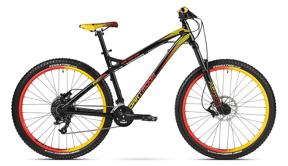 Dartmoor Primal 27.5 bike Black / Miami Vice