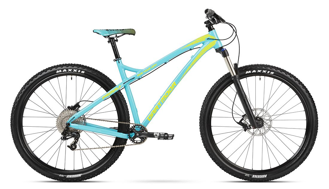 Dartmoor Primal 29 bike Cyan / Lime