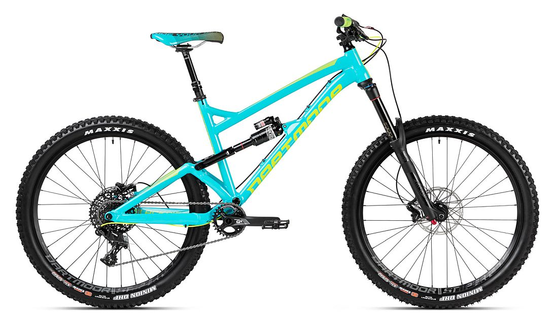 Dartmoor Blackbird PRO 27.5 bike Cyan / Lime