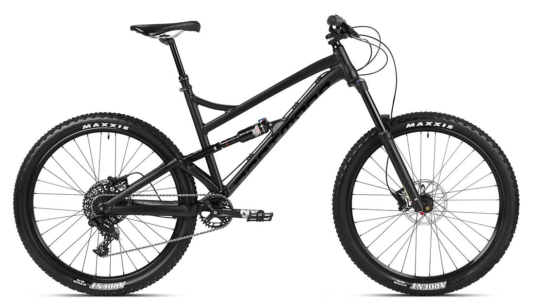 Dartmoor Blackbird 27.5 bike Black + dropper KS - size L
