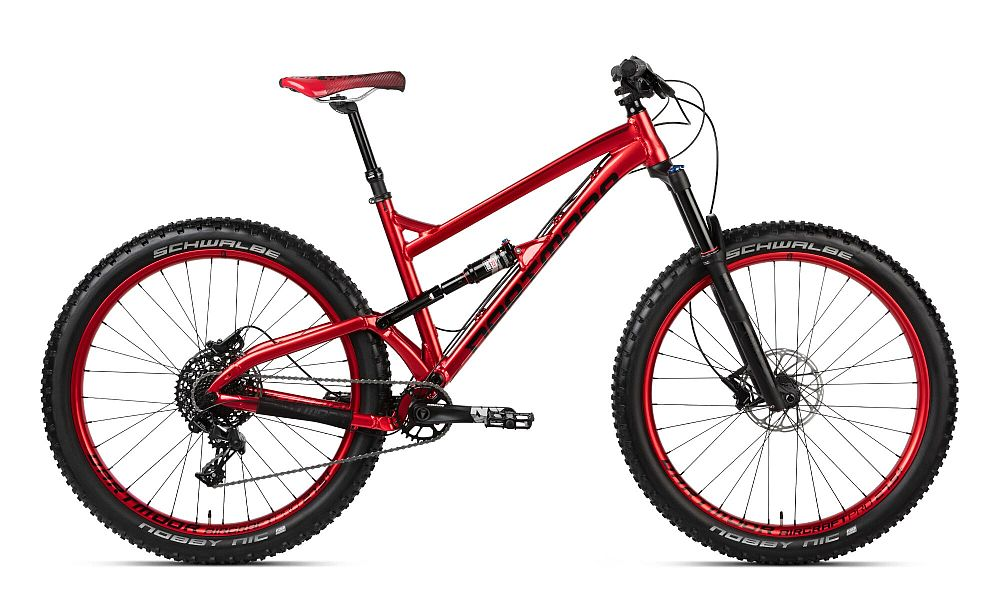 Dartmoor Bluebird Pro 27.5+ bike Plus size Red Devil