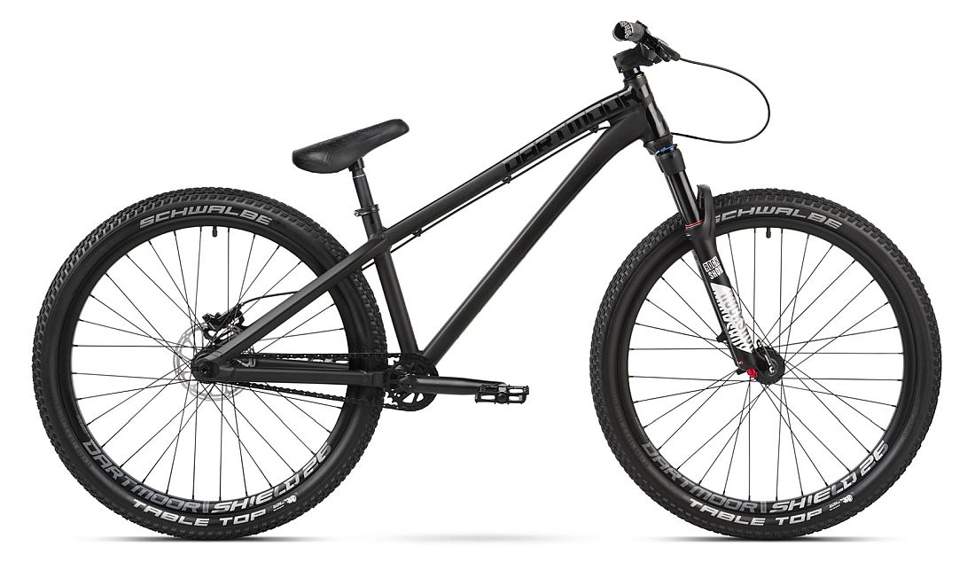 Dartmoor Two6player Pro bike Matt Black /Gloss Black