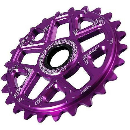 DMR Spin sprocket 25T purple