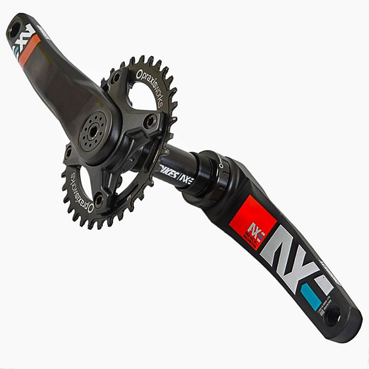 DMR Bikes AXE - cranks - M30 170 mm, Black, 73/68 BB
