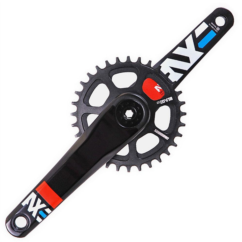 DMR Bikes AXE - cranks - M30 165 mm, Black, 73/68 BB