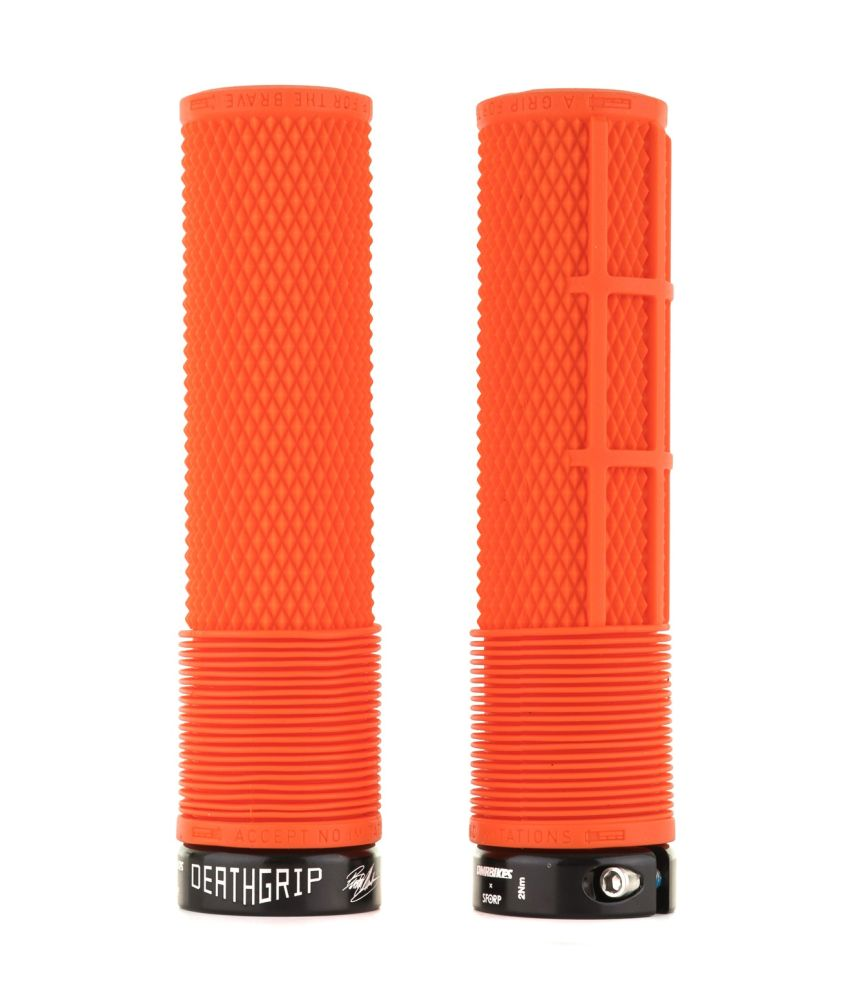 DMR Brendog DeathGrip NON FLANGE Orange (Thick, Soft)