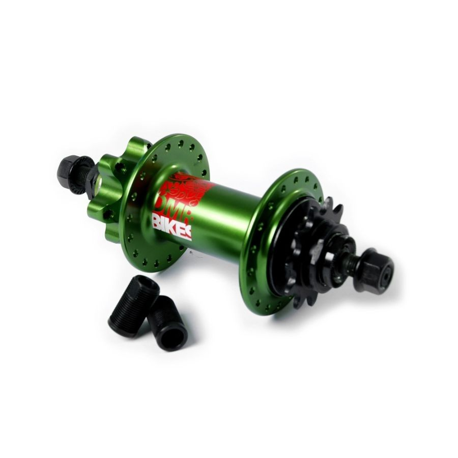 DMR Rear SS mini cassette hub (green, 36 H)