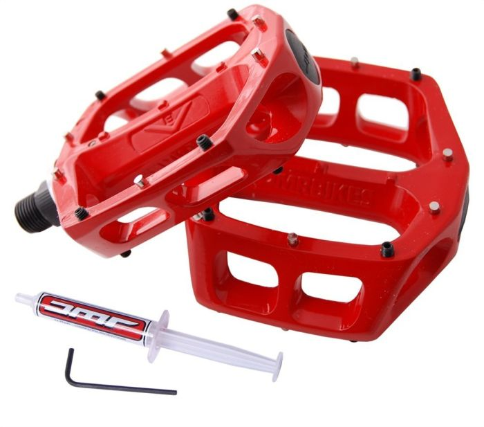 DMR Bikes V8 pedals Code Red