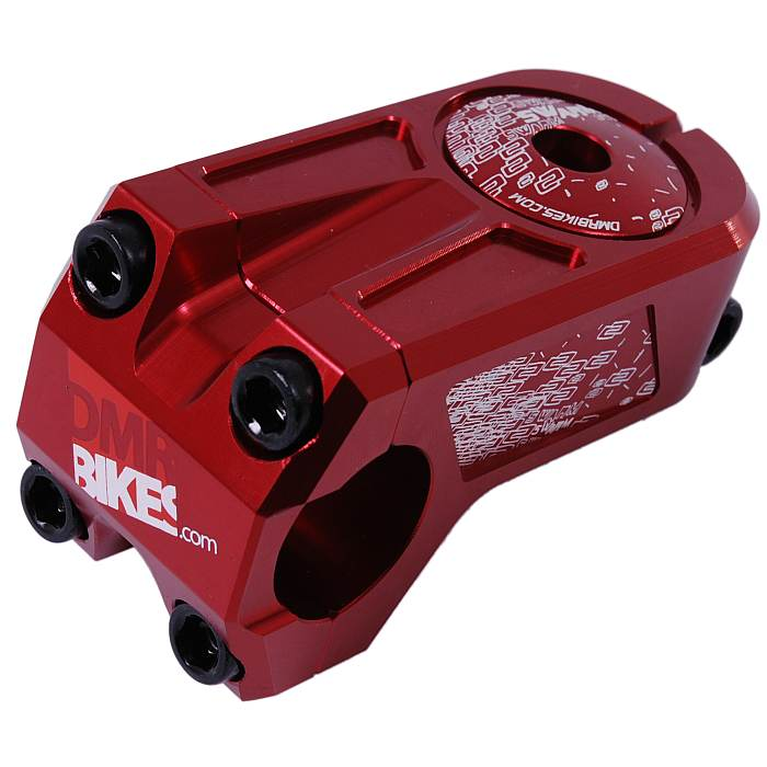 DMR Swarm OS stem 31,8 mm red