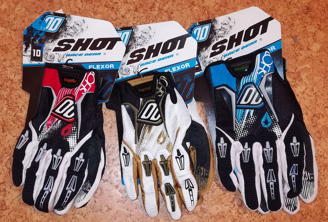 Shot Race Gear Flexor gloves