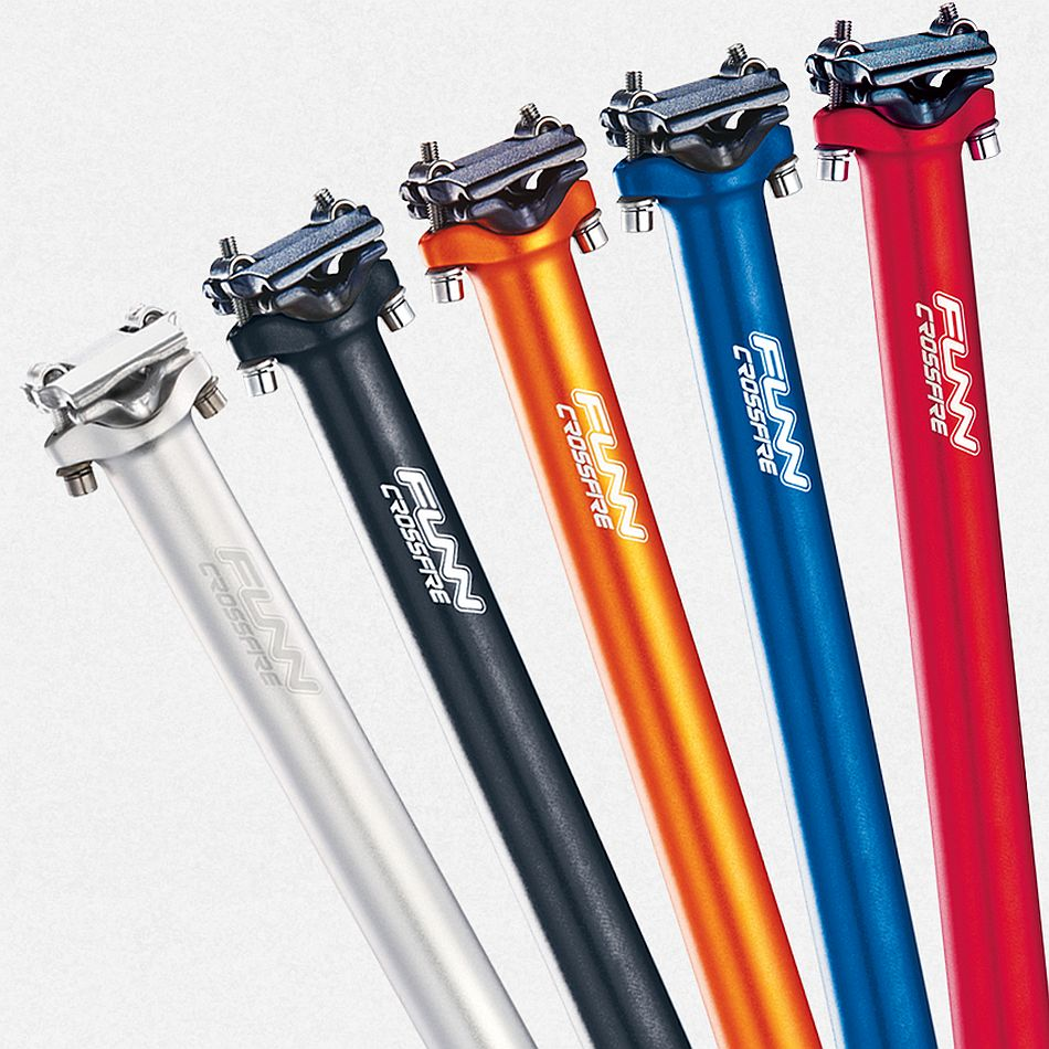 FUNN Crossfire seatpost 27,2 mm - black
