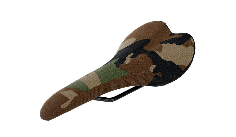 Gusset R series design saddle - Camo