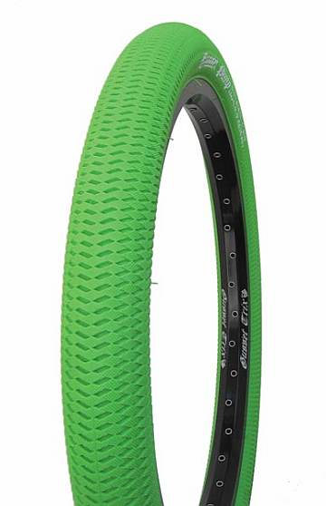 Gusset Pimp 20 x 2.1 green tire