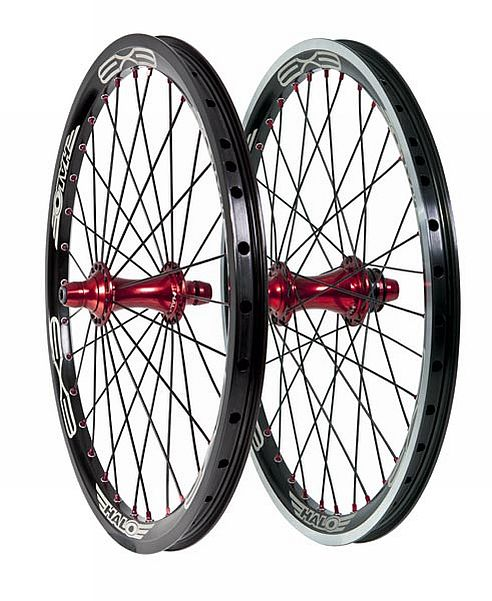 "Halo EX3 MXR-FW 20"" BMX race Wheel rear"