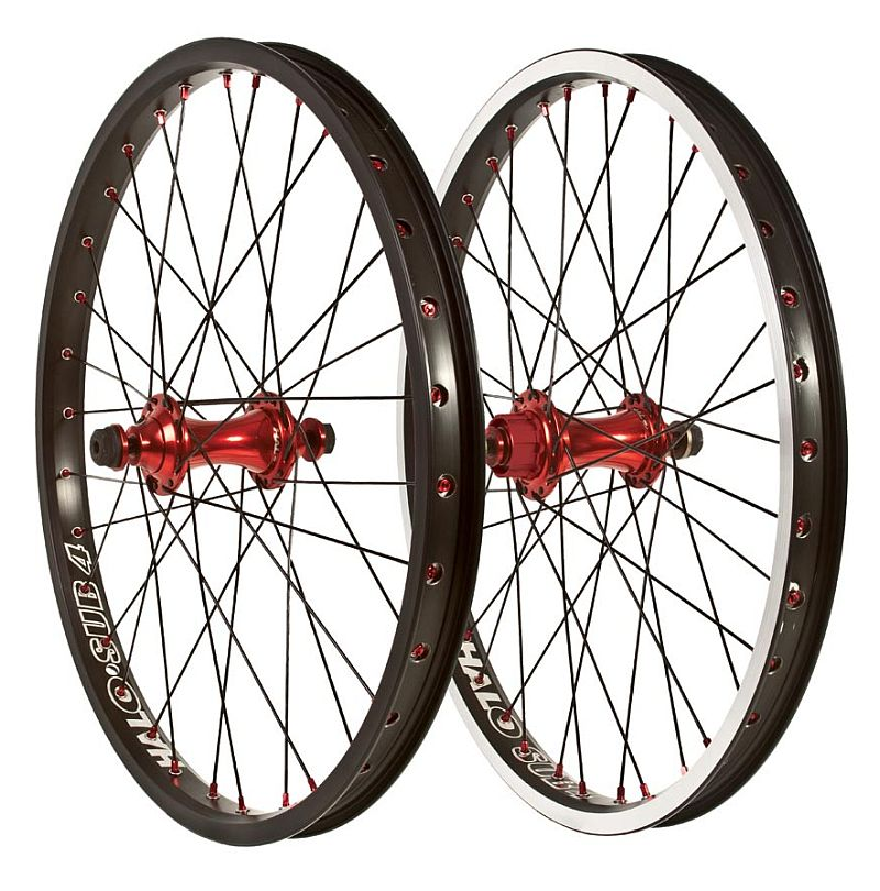 "Halo Sub-4 MXR-FW 20"" BMX race Wheel front"