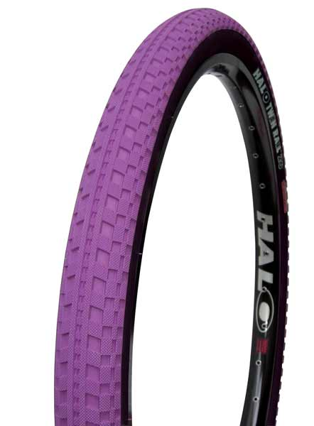 Halo Twin Rail 26 x 2.2 purple tire