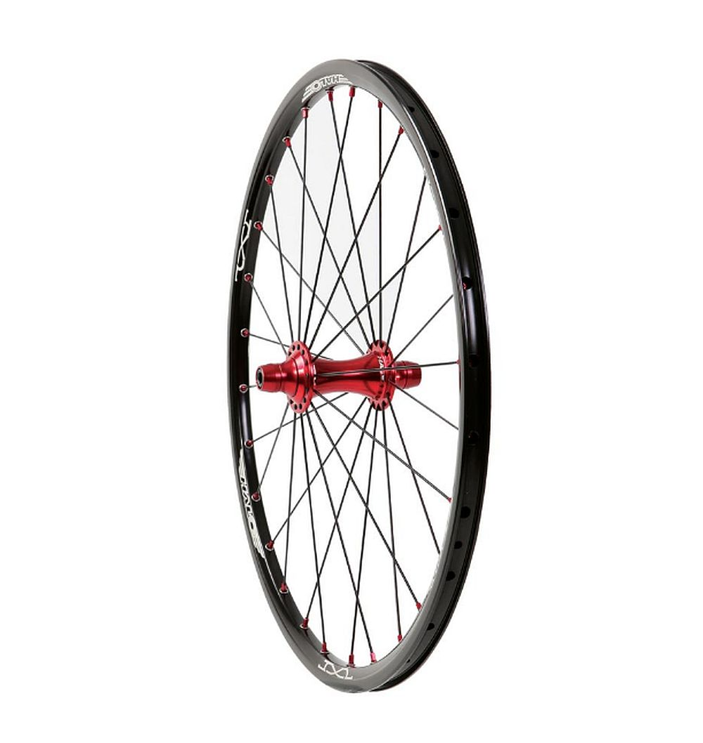 "Halo JX2 MXF 20"" BMX race Wheel front"