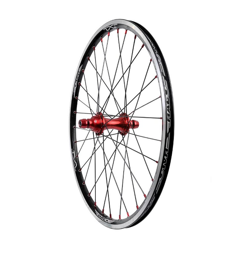 "Halo JX2 MXR-FW 20"" BMX race Wheel rear"