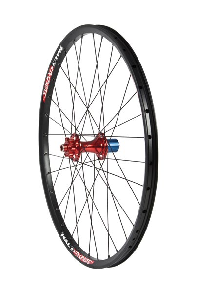 "Halo Chaos rear DH 26"" wheel"