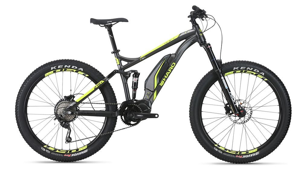 "Haro Shift Plus I/O 5 e-bike 27,5+"" celoodpružené (140 mm)"
