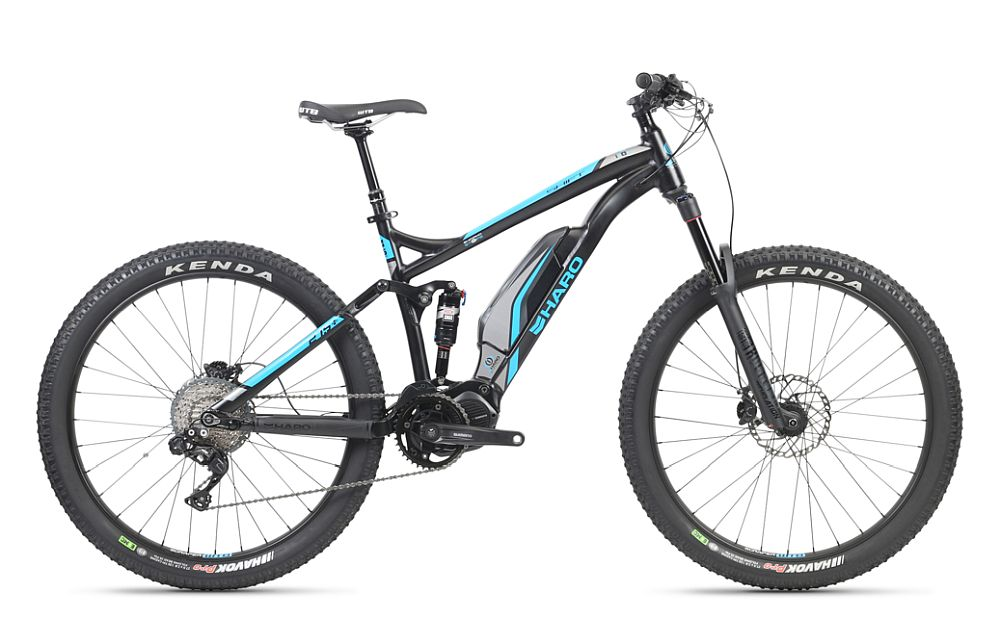 "Haro Shift Plus I/O 9 e-bike 27,5+"" celoodpružené (140 mm)"