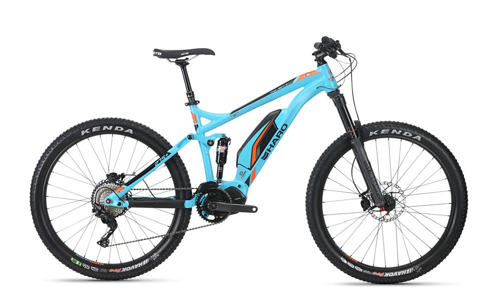 "Haro Shift Plus I/O 7 e-bike 27,5+"" celoodpružené (140 mm)"