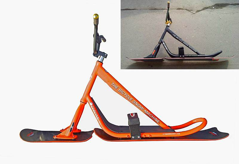 Insane Toys Snowscoot - komplet Alu Carving