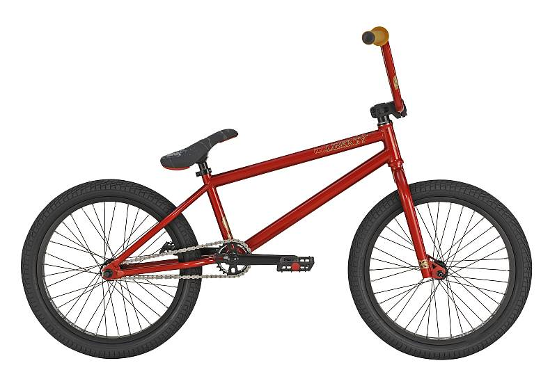 KINK Liberty Brakeless Red - kompletní kolo