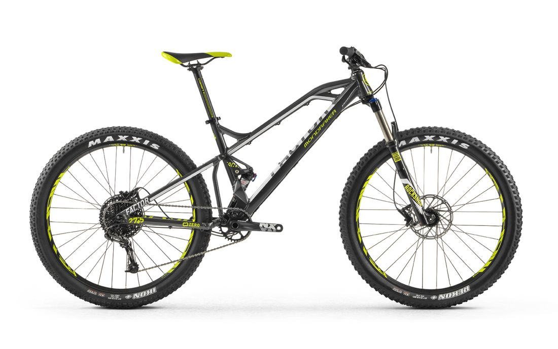 "2017 Mondraker Factor + 27.5+"" (plus size)"