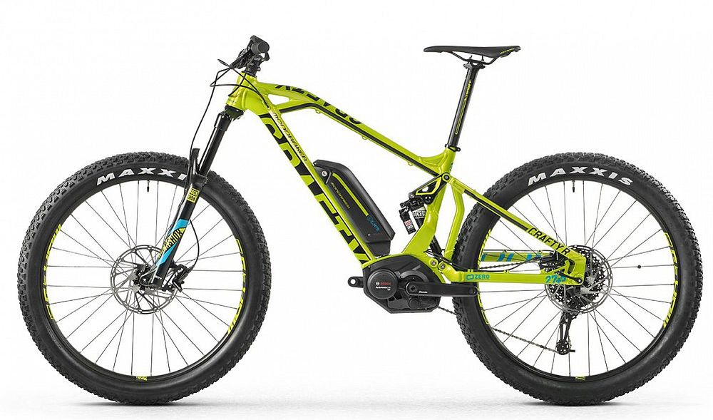 Mondraker E-Crafty R+ (27,5+) e-bike - size L green