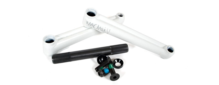 Macneil Conjoined cranks 175 mm white