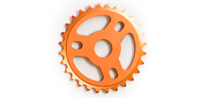 MacNeil Light sprocket orange
