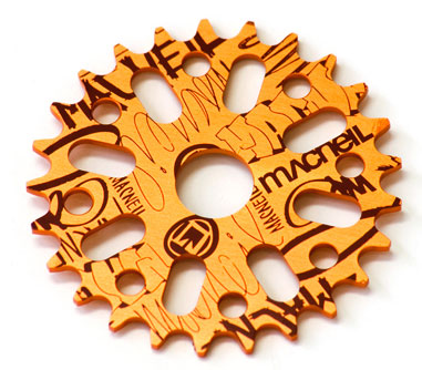 MacNeil Primary sprocket orange