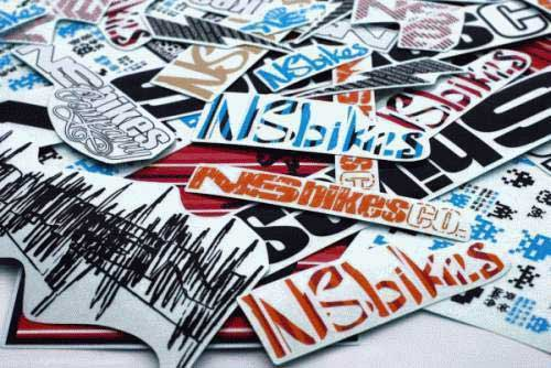 NS Bikes - sticker set original (28 pcs)