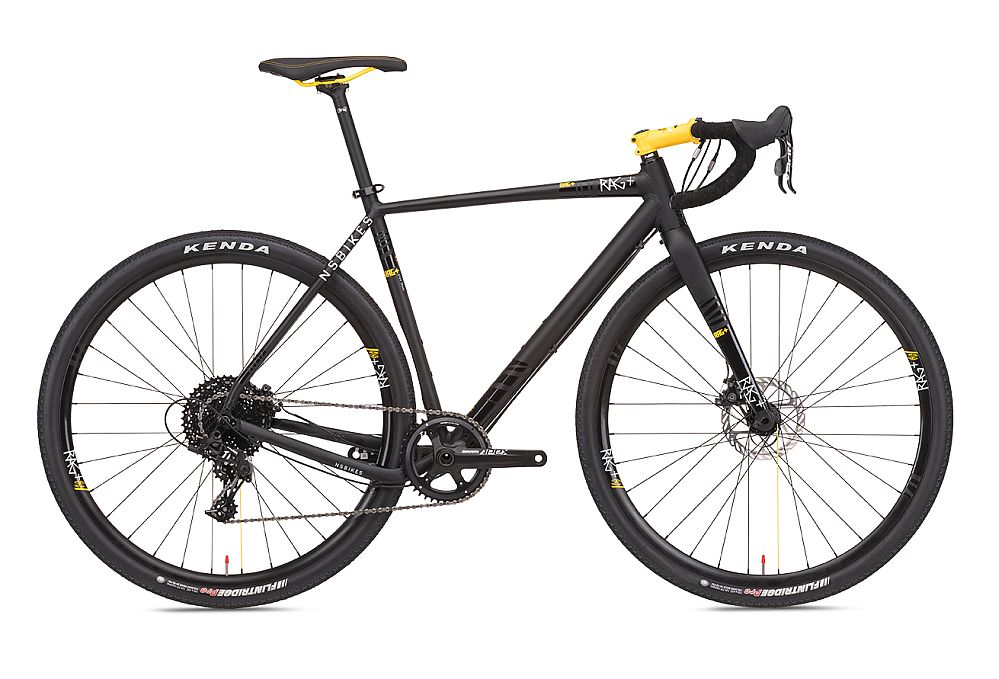 NS Bikes RAG+ 2 - gravel bike - Black/Yellow vel. XL