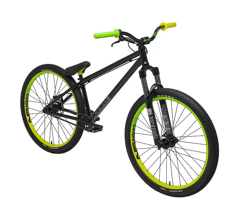 NS Bikes Metropolis 1 Black/Lime