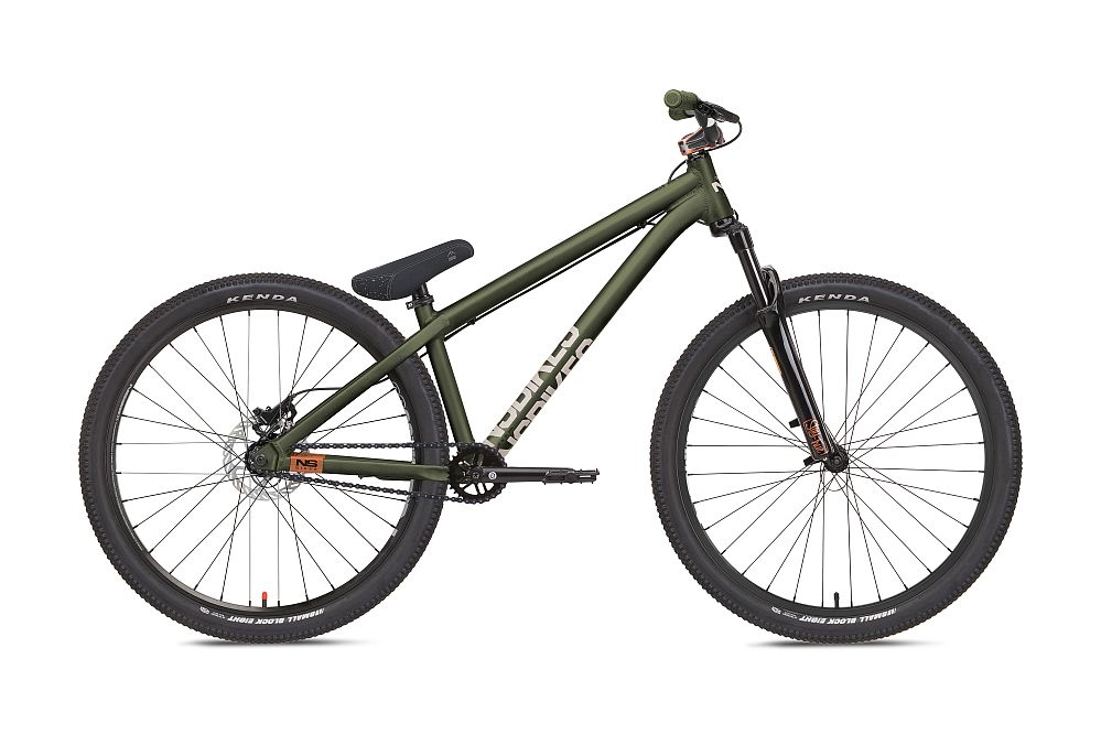 NS Bikes Movement 3 Metallic Green