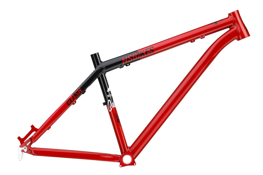 NS Bikes Clash XVI frame red