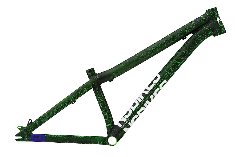 NS Bikes Decade rám - Zombie Green (Monster)