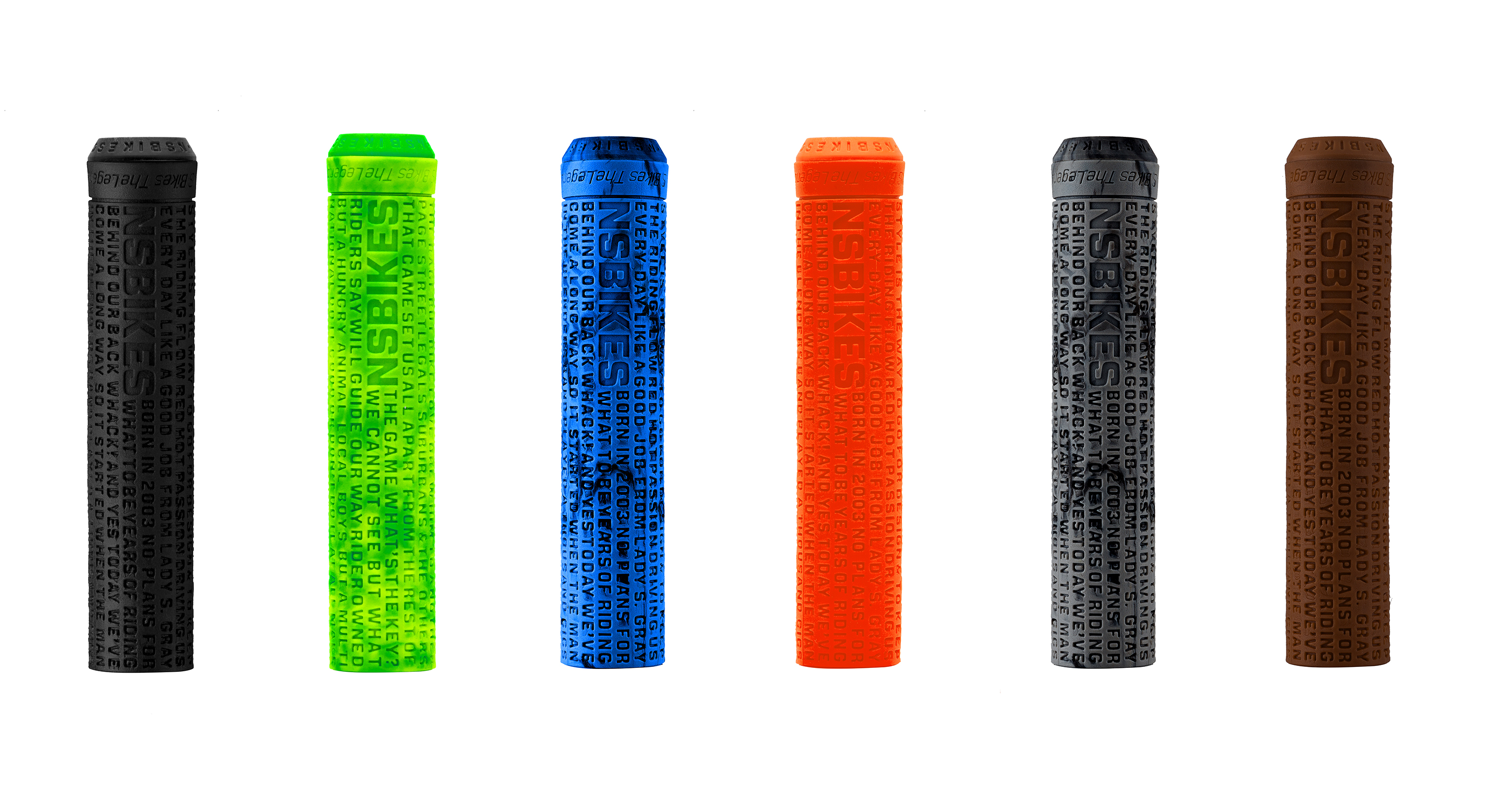 NS Bikes Sam Pilgrim FLAGELESS grips