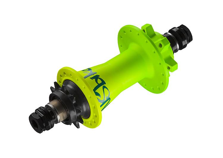 NS Bikes Rotary Single rear hub - Brazilian acid 36H